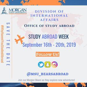 Inaugural Study Abroad Week