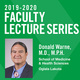 Faculty Lecture Series