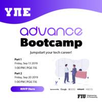 Advance Bootcamp (Part 1)