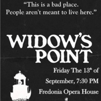 """Widow's Point"" film showing"
