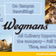 Wegmans On-Campus Recruiting - CLT