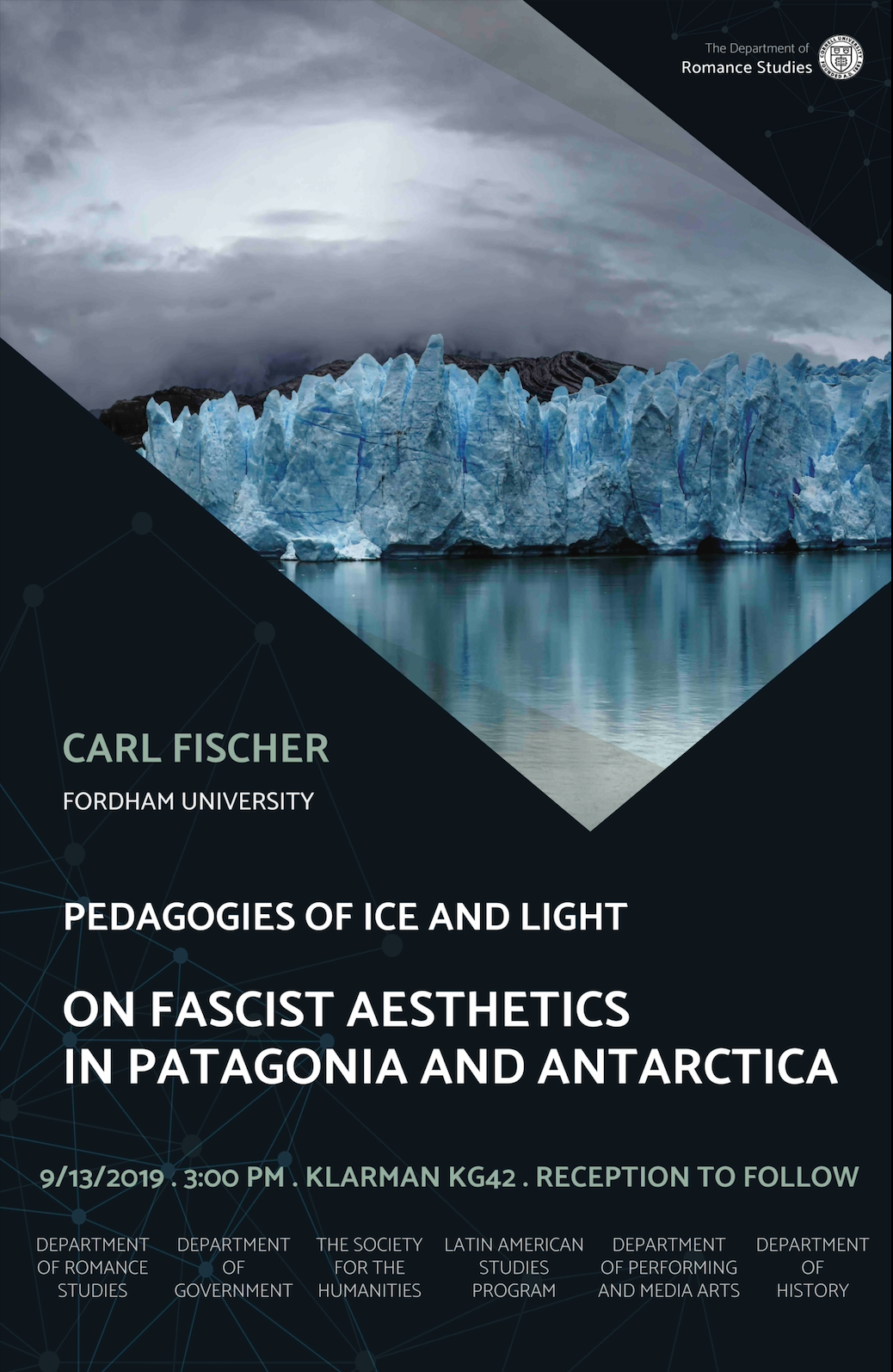 """Carl Fischer, """"Pedagogies of Ice and Light: On Fascist Aesthetics in Patagonia and Antartica"""""""