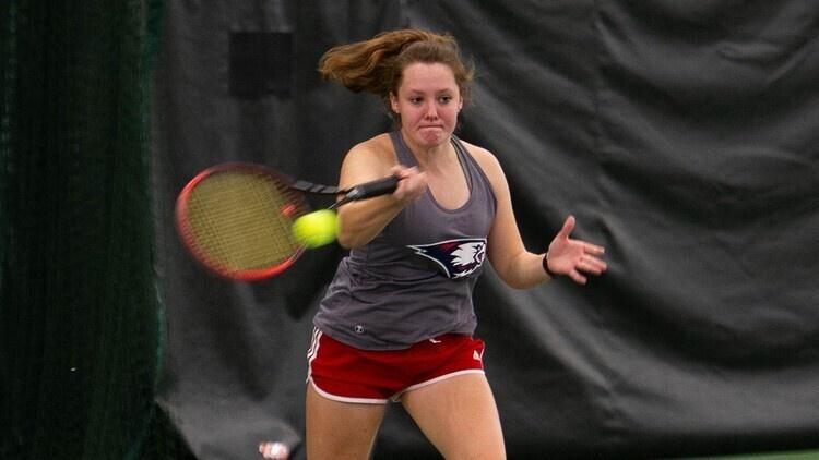 USI Women's Tennis vs University of Tennessee at Martin at Martin, TN