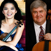 Stephen Balderston, cello & Janet Sung, violin