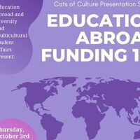 Education Abroad Funding 101 Workshop