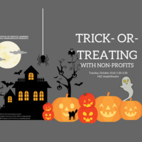 Trick-Or-Treating with Non-Profits
