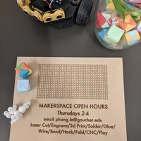Makerspace Open Hours