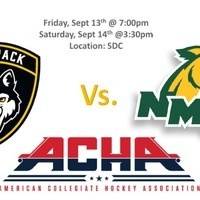 Men's Hockey Club (Wolfpack) vs. Northern Michigan University