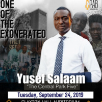 CPAB presents One of the Exonerated ft. Yusef Salaam