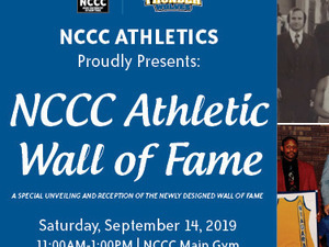 NCCC Athletic Wall of Fame