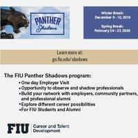Panther Shadows Info Session