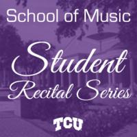 Student Recital Series: Allyson Smith, voice.  Jun Guo, piano.