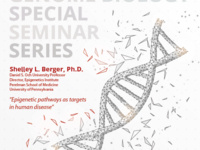 Genome Biology Special Seminar Speaker - Shelly L. Berger, Ph.D.
