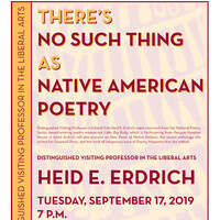 Heid Erdrich: There's  No Such Thing  as Native American Poetry