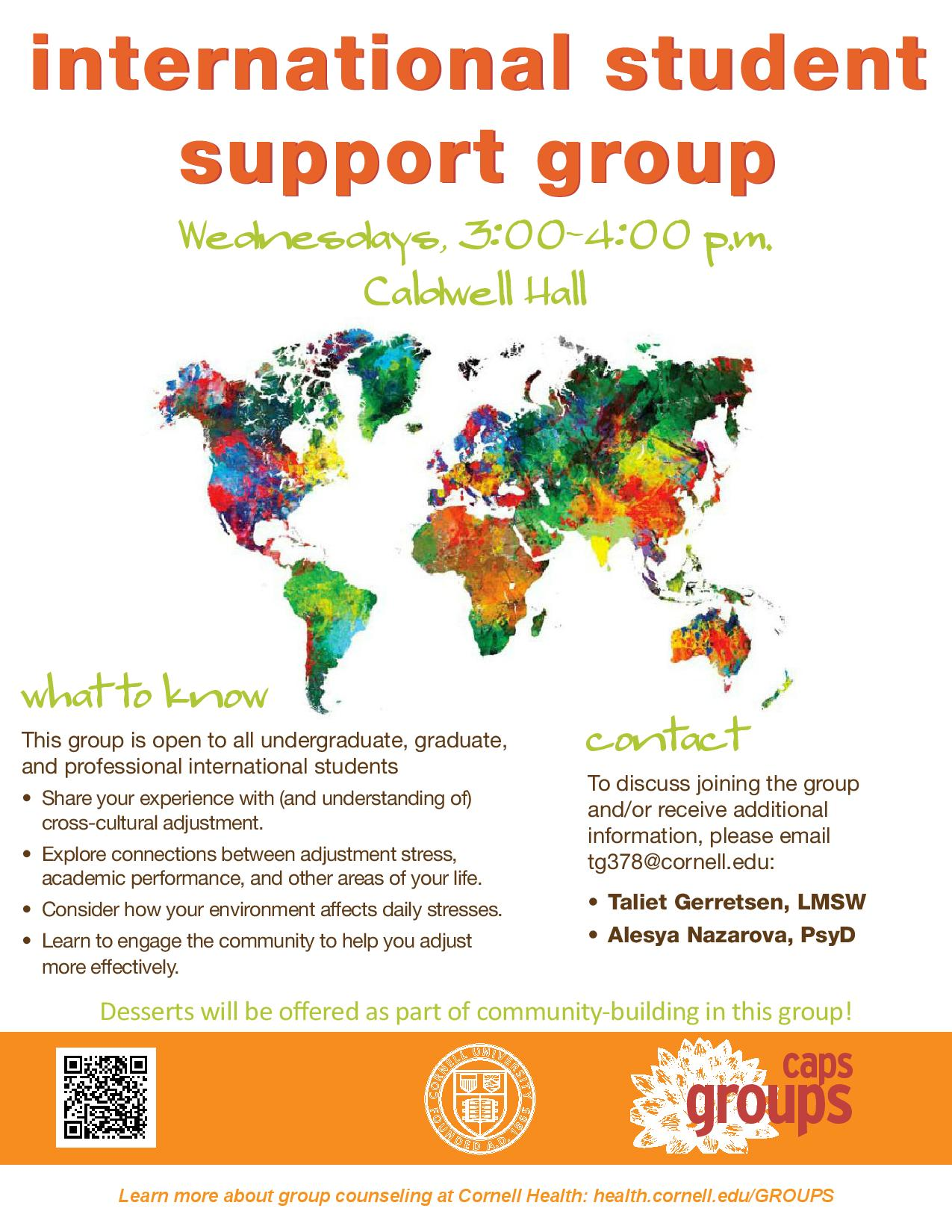 International Student Group Counseling