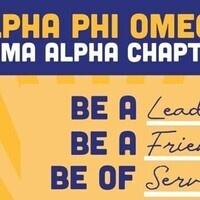 Alpha Phi Omega Initiation