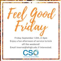 Feel Good Friday  | Community Service