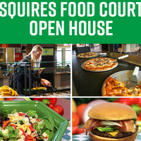 Squires Food Court Open House