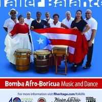 Guest Artist workshop and lecture: Taller Balancé Bomba Afro-Boricua