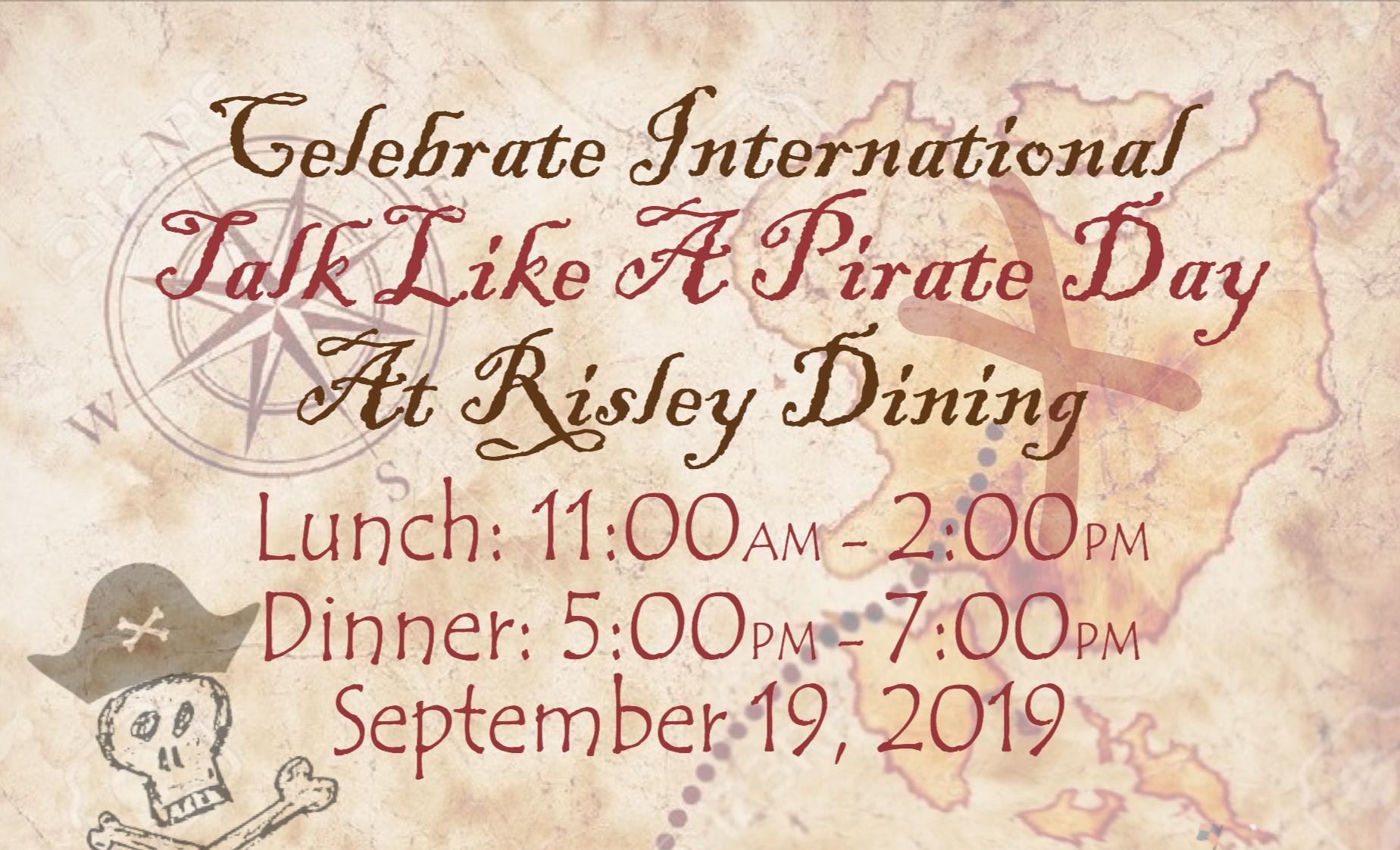 """Celebrate """"Talk like a Pirate Day"""""""