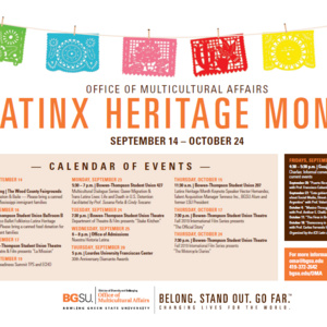 Latinx Heritage Month Kickoff!