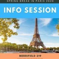 Spring Break in Paris Info Session