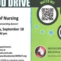 UMSL College of Nursing Blood Drive