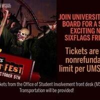 Explore St. Louis: Six Flags Fright Fest