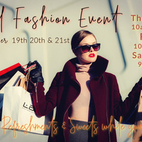 Annual Fall Fashion Event