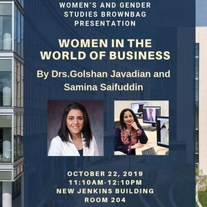 Women's and Gender Studies Brown Bag  Program