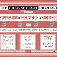The Suppression of Free Speech in High Schools