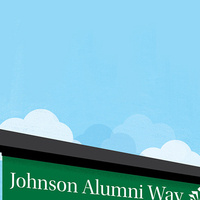 Johnson Alumni Way Unveiling (ALUMNI)