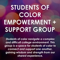 Students of Color Empowerment & Support Group