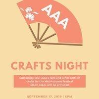 AAA Crafts Night