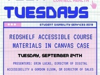 Tech Tuesday - RedShelf Accessible Course Materials in Canvas