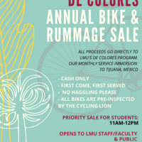 2019 De Colores Annual Bike & Rummage Sale