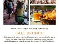 Faculty Assembly Women's Committee Annual Brunch