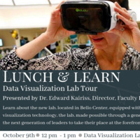 Lunch and Learn: Data Visualization Lab Tour
