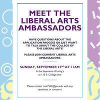 Meet the Liberal Arts Ambassadors