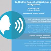 2ndInstitutRamonLlullWorkshop on Bilingualism