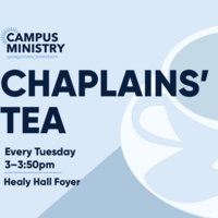 Chaplains' Tea: Center for Social Justice