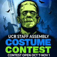 UCR Staff Assembly Halloween Contest