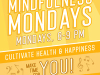 Mindfulness Mondays: take a break for your health and happiness! Work on a sewing project that will become a public art installation on refugees