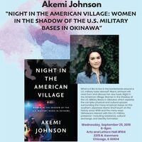 "Akemi Johnson ""Night in the American Village: Women in the Shadow of the U.S. Military Bases in Okinawa"""