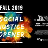 Multicultural Resource Center (MRC) Social Justice Opener