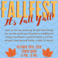Fall Fest: It's Fall Y'all!