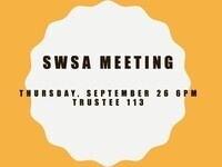 Social Work Student Association Meeting