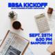 Black Business Student Association Kickoff Meeting