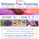Wooden Fish Painting Class