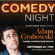 Comedy Night: Helping Huskies Thrive Presents Adam Grabowski